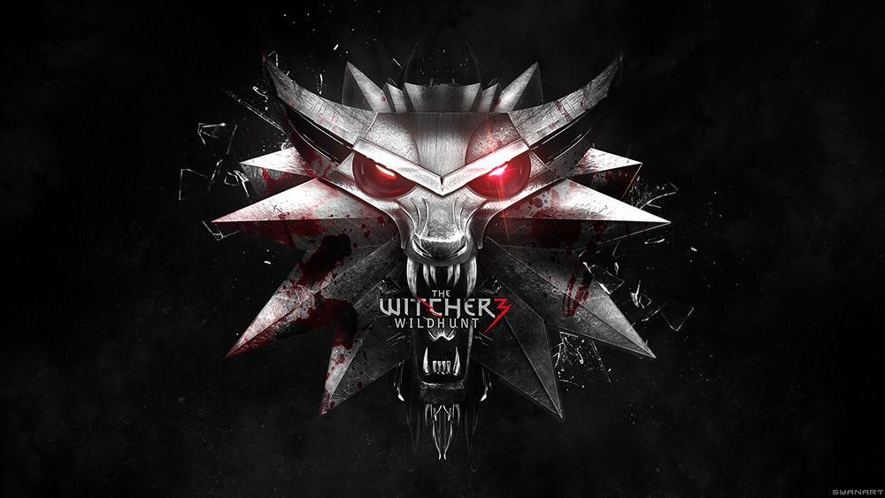 The Witcher 3 Wild Hunt Logo The witcher, The witcher