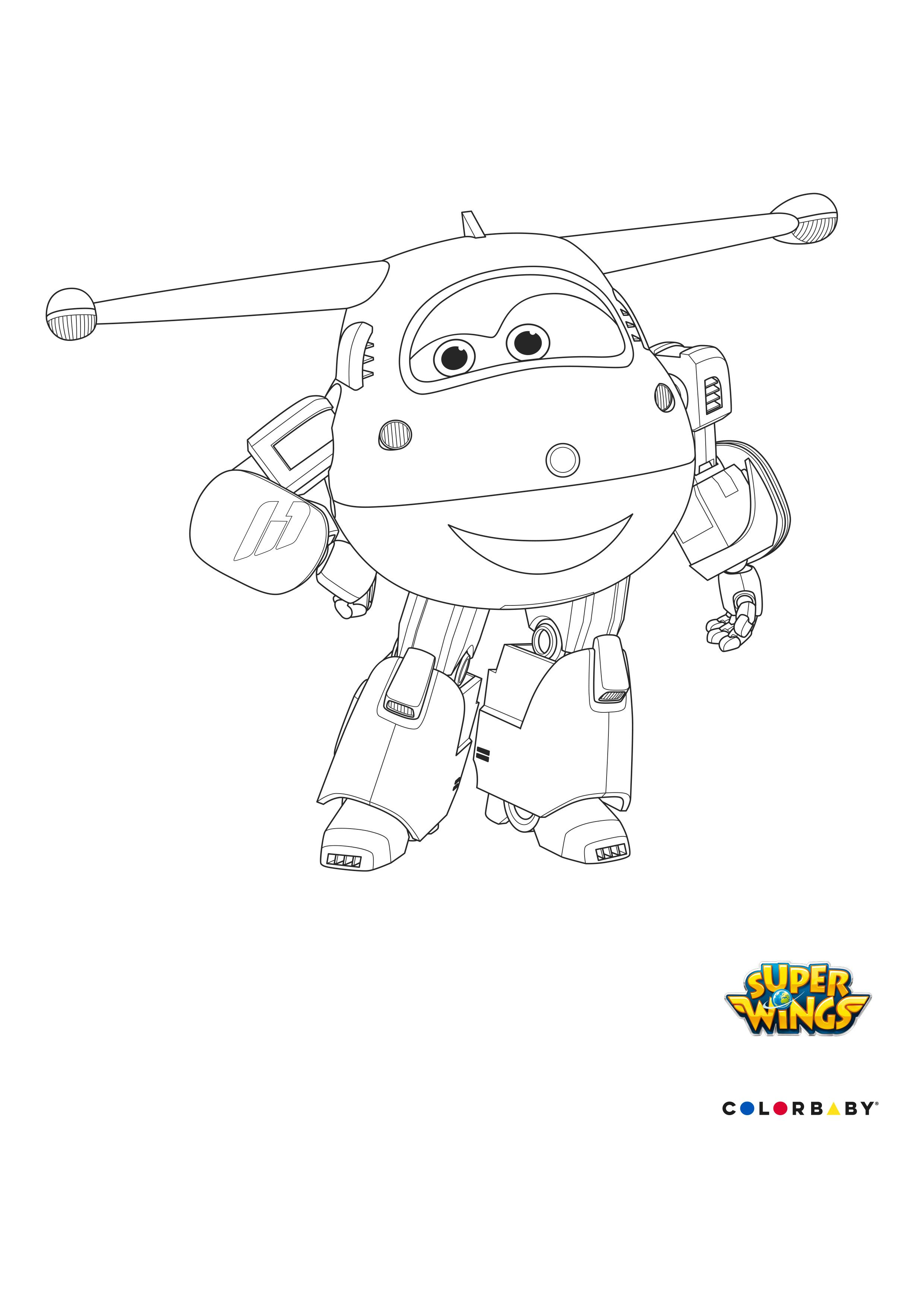 Luxe Dessin A Colorier Super Wings