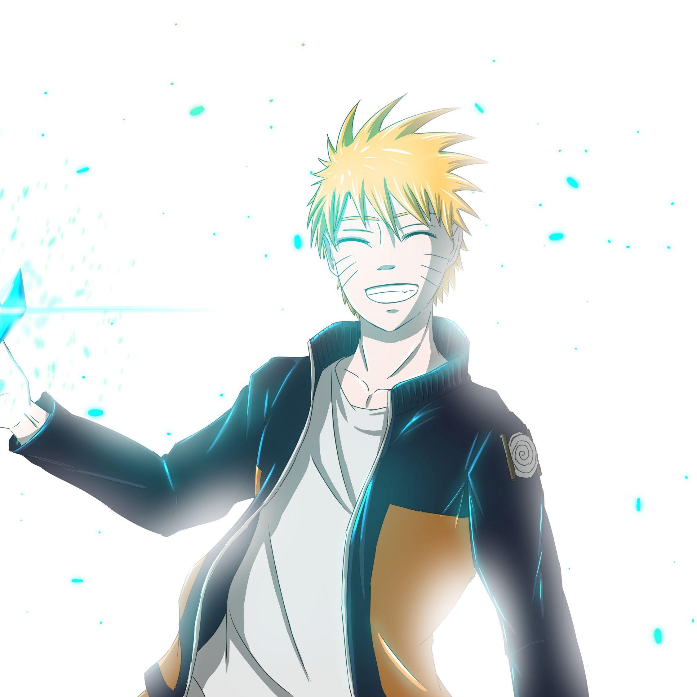Naruto Uzumaki Anime Boy Happy Art 2248x2248 Wallpaper Anime Happy Art Free Hd Wallpapers