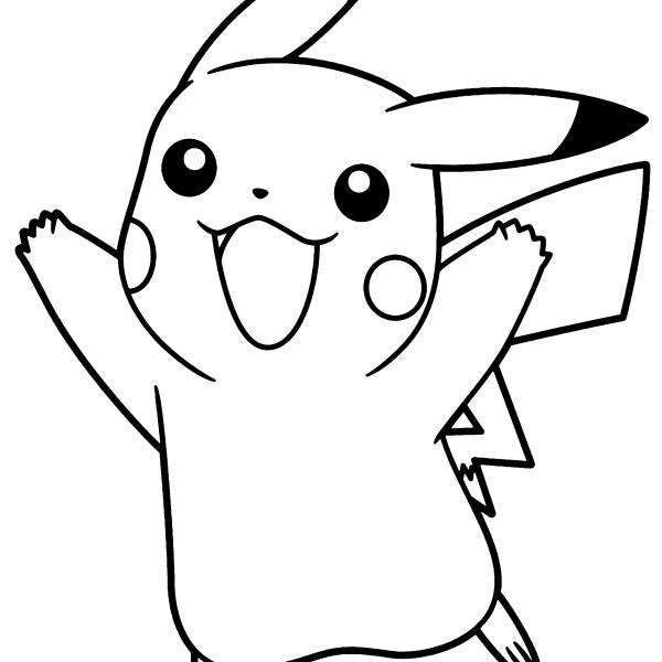 Pin En Pikachu Drawings Dibujos
