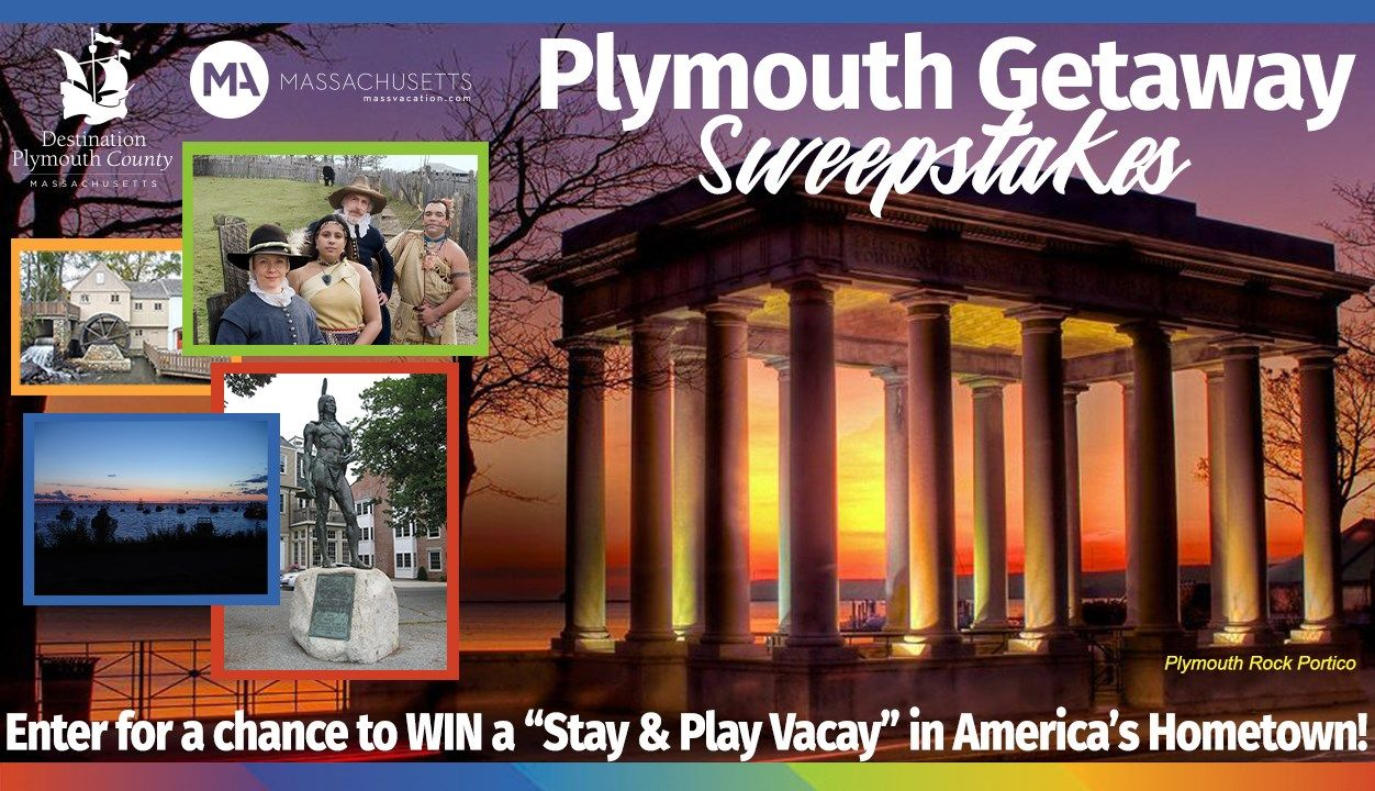 Enter the Plymouth Getaway Sweepstakes! One lucky winner