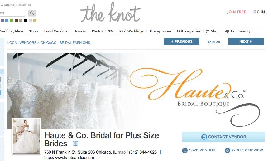 Haute & Co. Bridal for Plus Size Brides Plus size brides