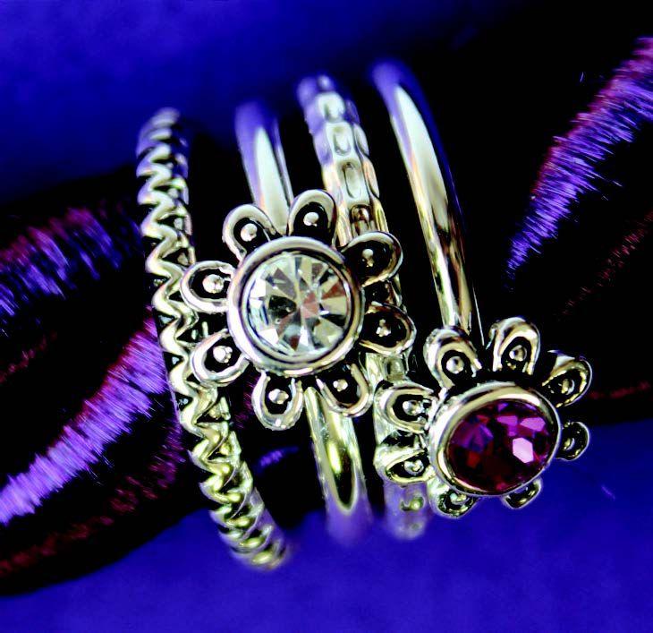 stackable rings da vinci beads pinterest ring
