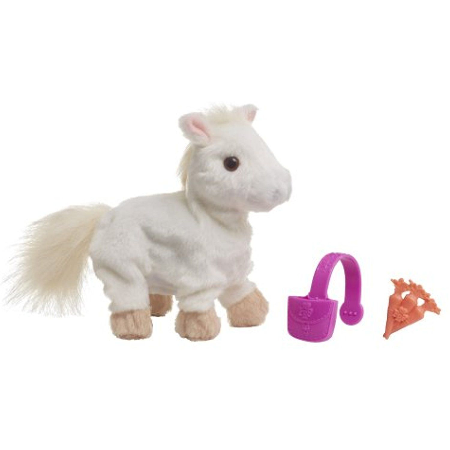 Furreal Friends Snuggimals White Pony Plush Click On The Image