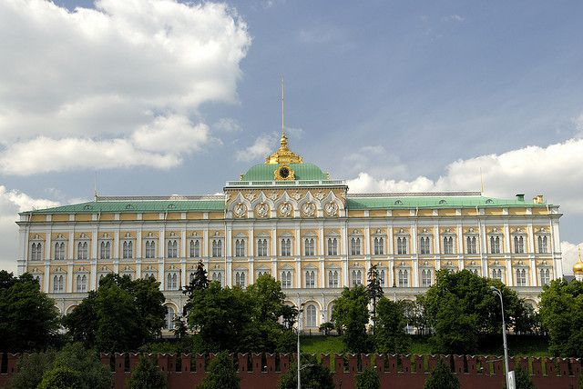 The Grand Kremlin Palace, Kremlin, Moscow, Russia | The Grand Kremlin Palace in Moscow
