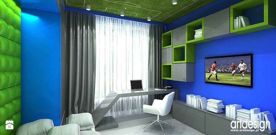 projekt pokoju dla chlopca zdj cie od artdesign architektura wn trz pok j dziecka styl. Black Bedroom Furniture Sets. Home Design Ideas