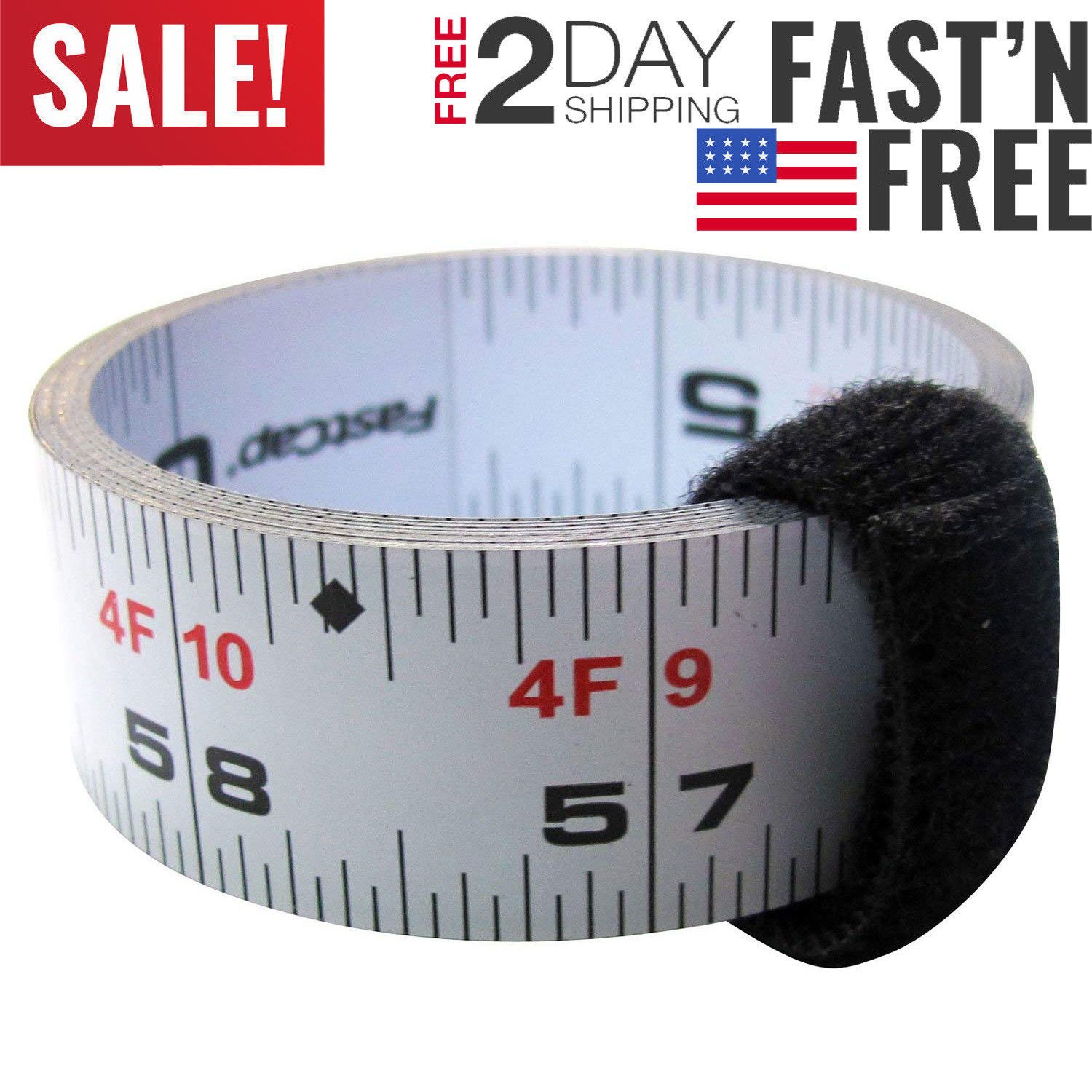Measuring Tapes And Rulers 29524 Fastcap Self Adhesive 16 Measuring Tape Reversible Left Or Right Read Strong New Buy It Now Onl Tape Measure Adhesive Tape