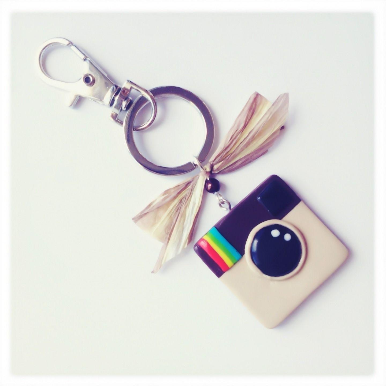 logo instagram en fimo