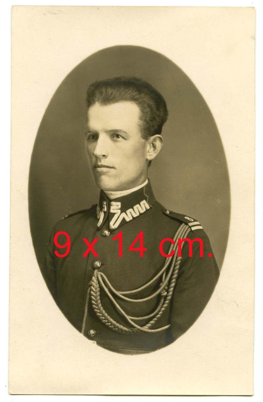 Kapral Feliks Gałązka z 8 dywizjonu żandarmerii z Torunia, 1927