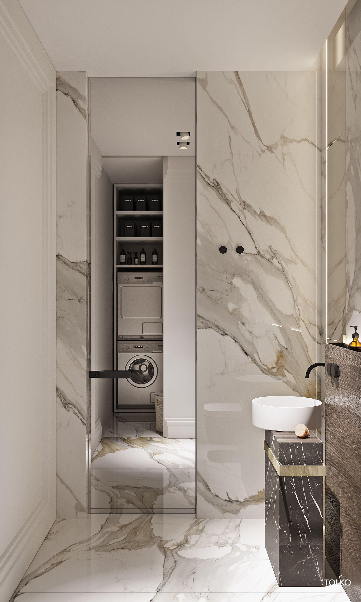 Tol Ko Latte Flat In Smolensky Deluxe On Behance Bathroom Interior Design Luxury Bathroom Bathroom Design Luxury Bathroom apartment ideas gif