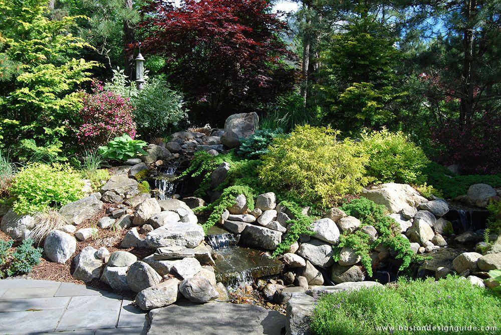 The gardeners premier landscape design build firm of for Cape cod landscape design