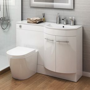 Our White Gloss Bathroom Storage Units Are Ideal For Family Bathrooms And Add A Touch Of Style T Bathroom Storage Units Bathroom Sink Units Toilet And Sink Set