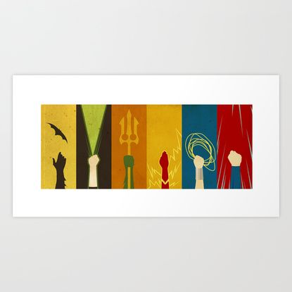 Justice Art Print by Danny Haas | Society6