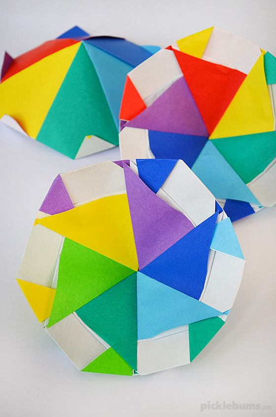 Make A Cool Paper Spinner In 2018 2017 Pinterest Origami Paper