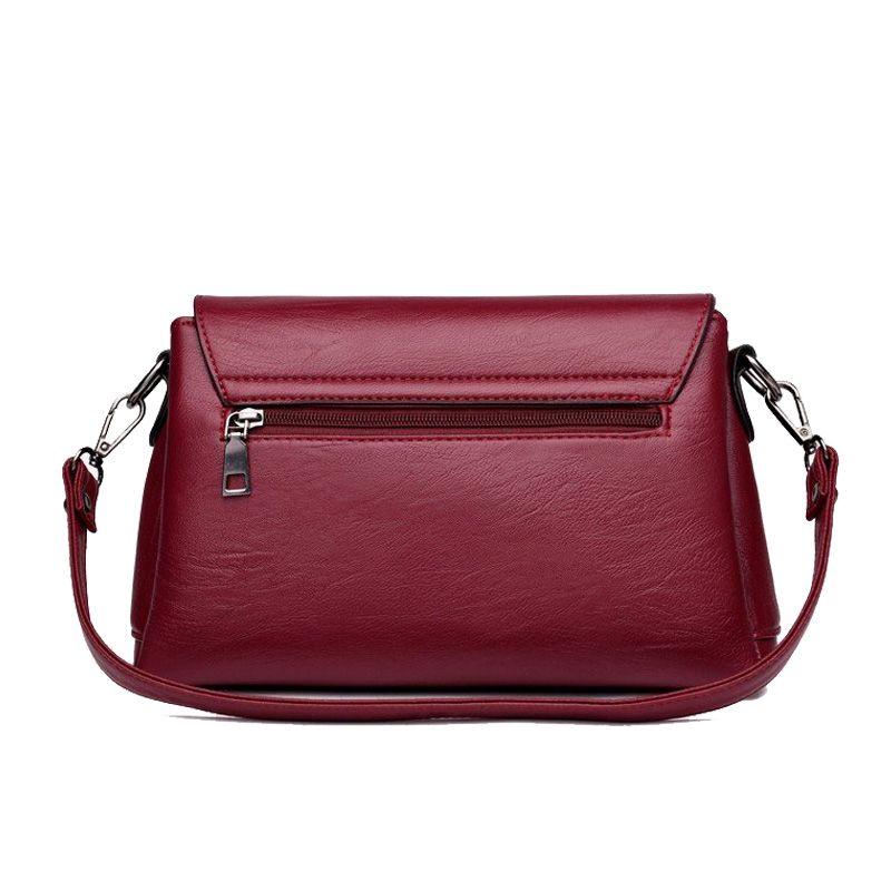 38c88cced4c7 Bonsacchic Fashion Small Female Bag Black Soft PU Leather Crossbody Bag  Handbags Women Shoulder Bag 2018