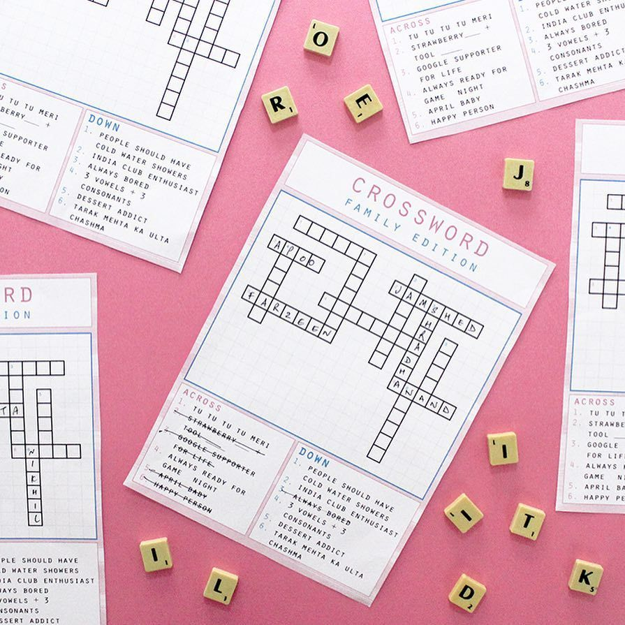 Did You Know You Could Get Custom Crossword Puzzles Made For Any Occasion Even Better You Can Print Them At Home Dm U Crossword Puzzles Craftables Occasion