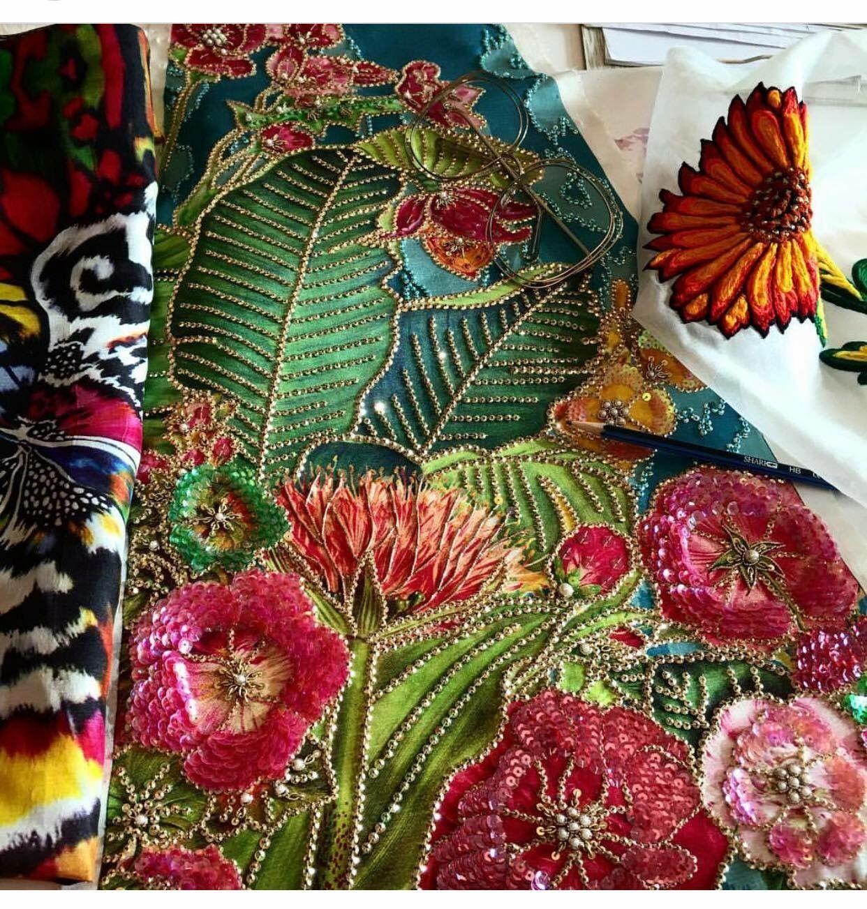 Ali xeeshan embroidery