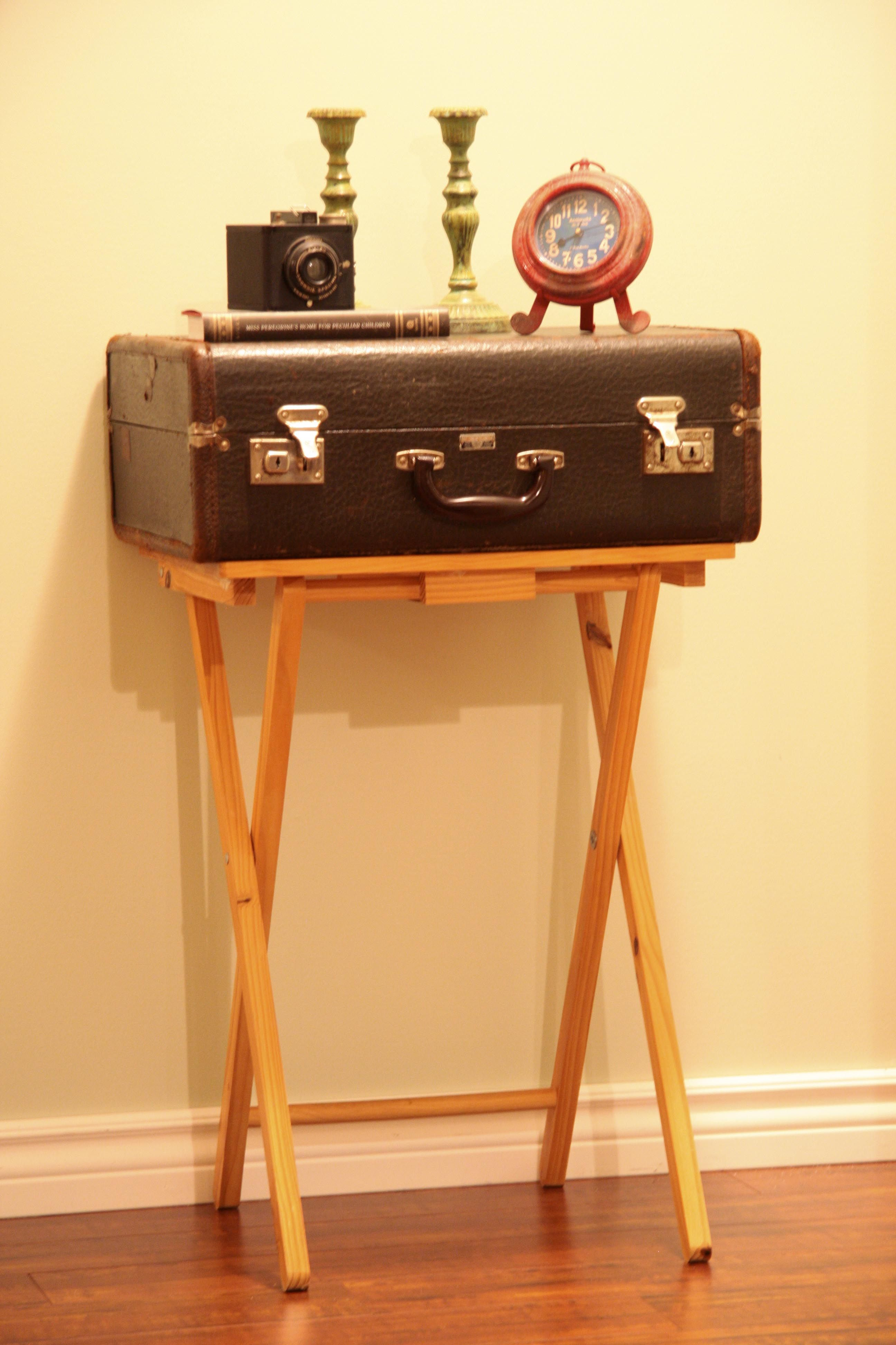 A Vintage Suitcase Made By Christie Baggage Of Amherst, Nova