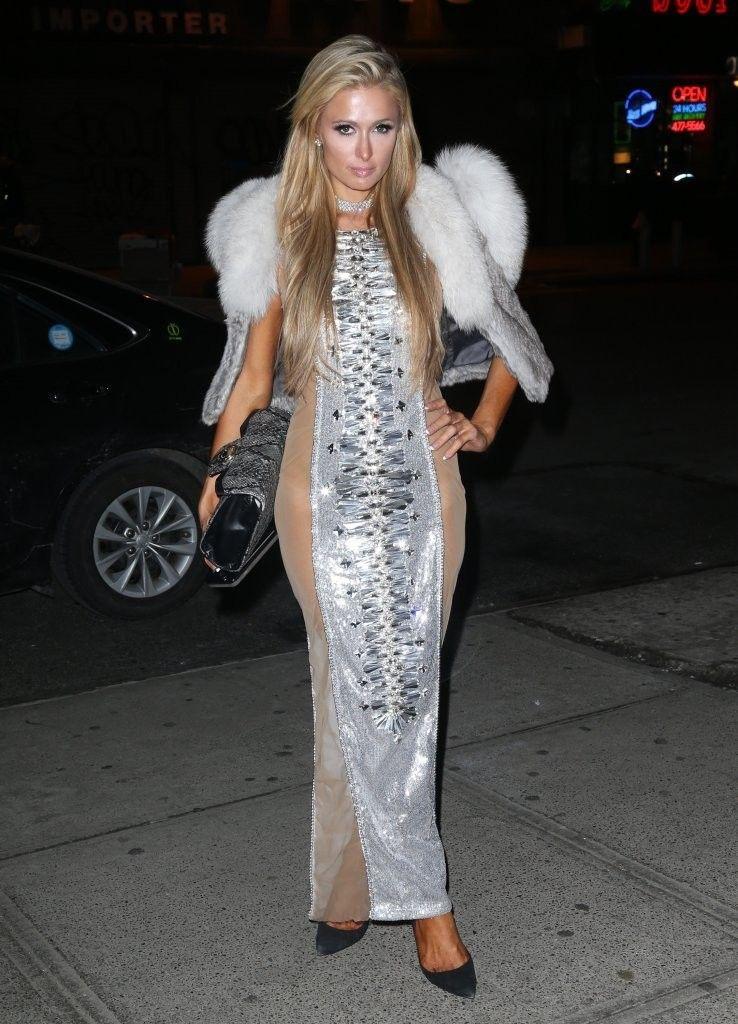 23d4845f5f Paris Hilton Beaded Dress - Paris Hilton Dresses   Skirts Looks -  StyleBistro