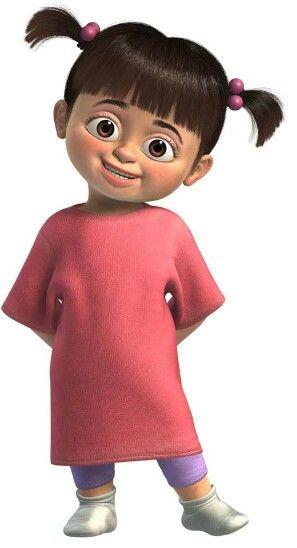 Boo El Personaje Mas Tierno De Pixar Personajes De Monsters Inc Boo De Monster Inc Dibujos De Personajes De Disney