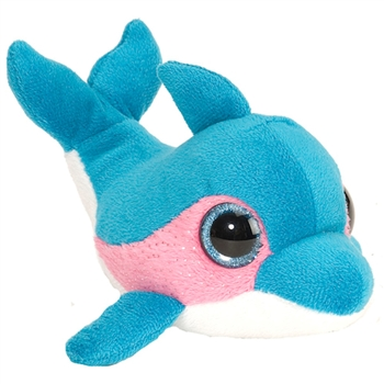 e62b9d6beec Raspberry the Lil Sweet and Sassy Plush Blue Dolphin by Wild Republic Ty  Babies