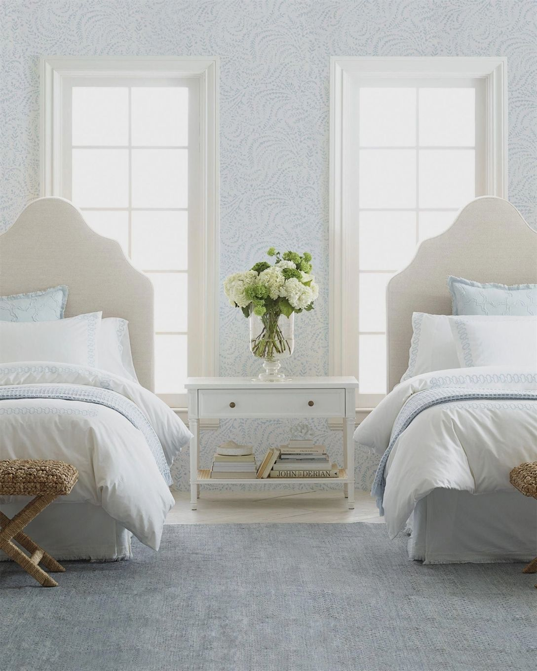 Priano Wallpaper Serena & Lily bedroomdecoration