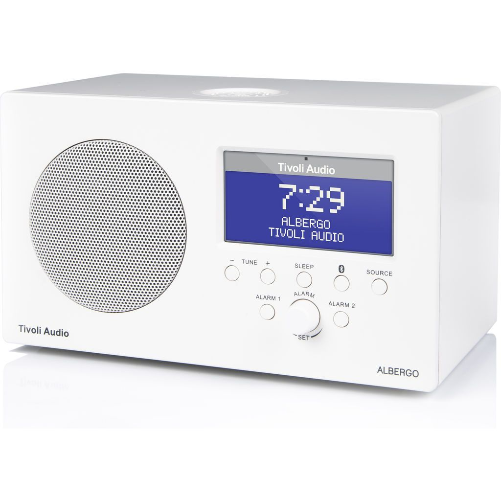 Tivoli Audio Model One Alternative Tivoli Audio Albergo Bluetooth Speaker Radio White Products