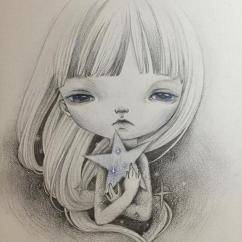 Have a starry starry night…✨#illustration #doodle #drawing #star | da Yi Shu Wan