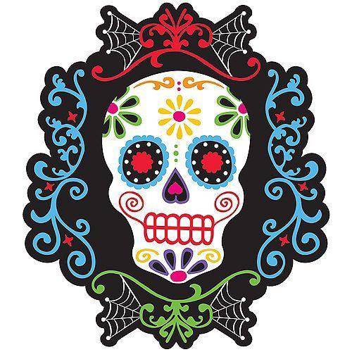 totenkopf sugar skull day  todesprinzessin   ausschnitt