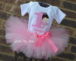 Pink Tutu Birthday Outfit