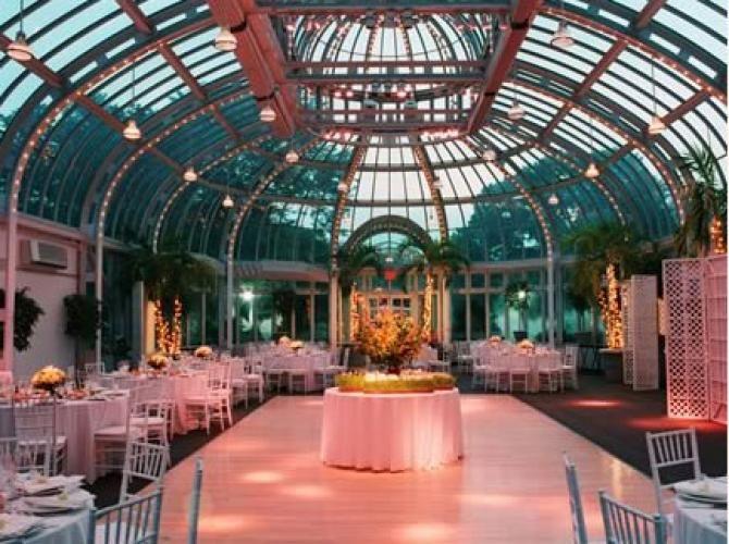 Brooklyn Botanic Gardens The Palm House Wedding Venues New York Usa