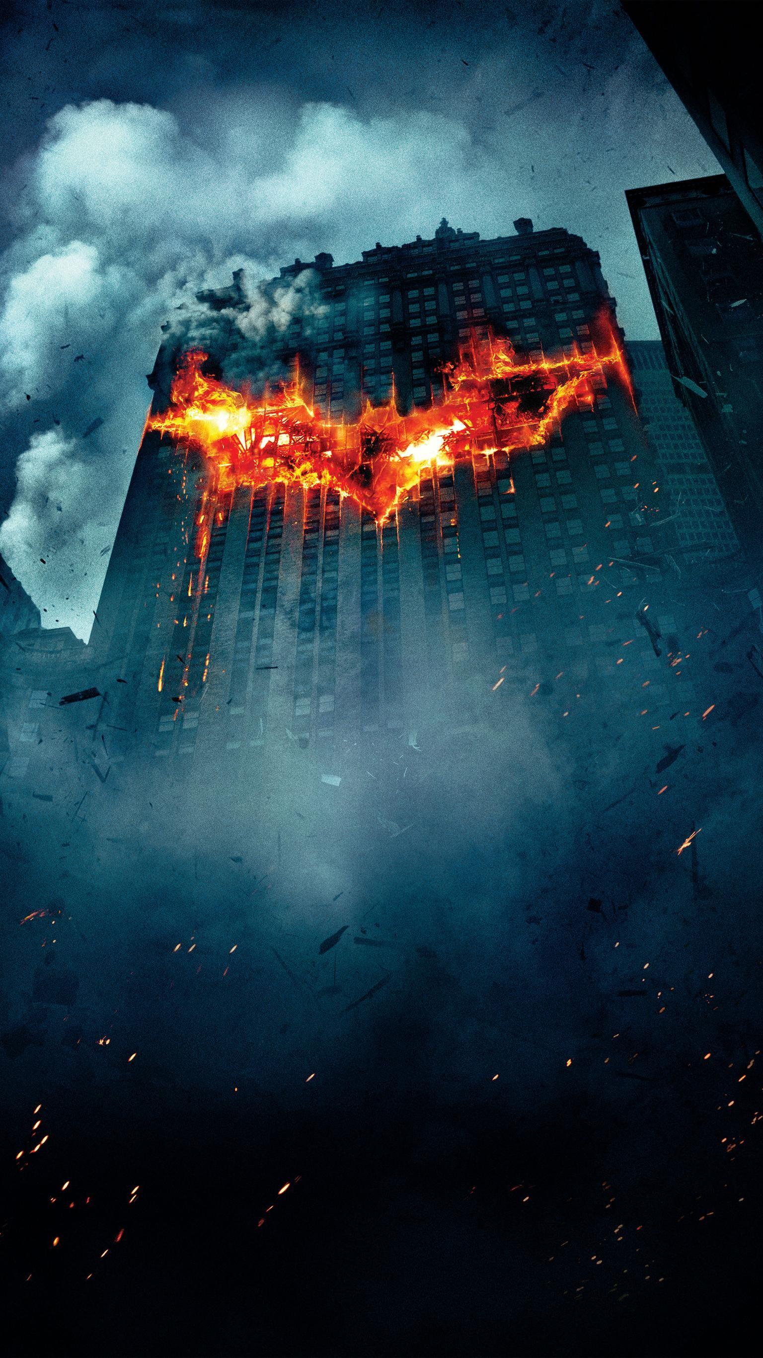 The Dark Knight (2008) Phone Wallpaper Dark knight