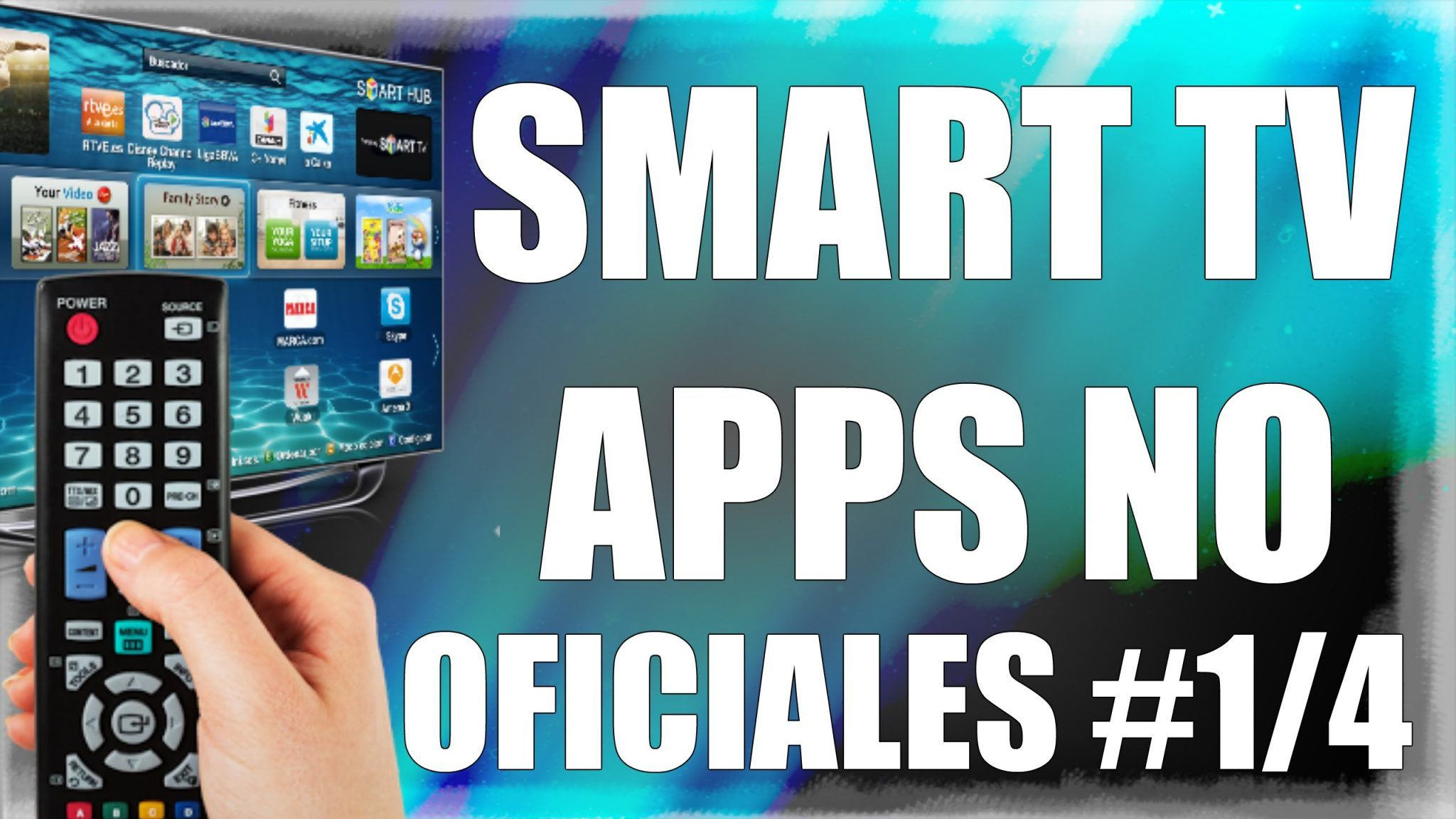 Como Instalar Apps No Oficiales En Smart Tv Aplicaciones Para Smart Tv Señal De Television Smart Tv