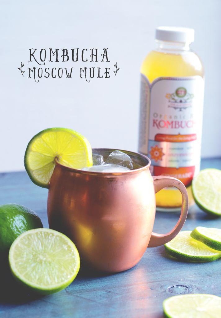 Kombucha Moscow Mule Recipe Kombucha Kombucha Recipe