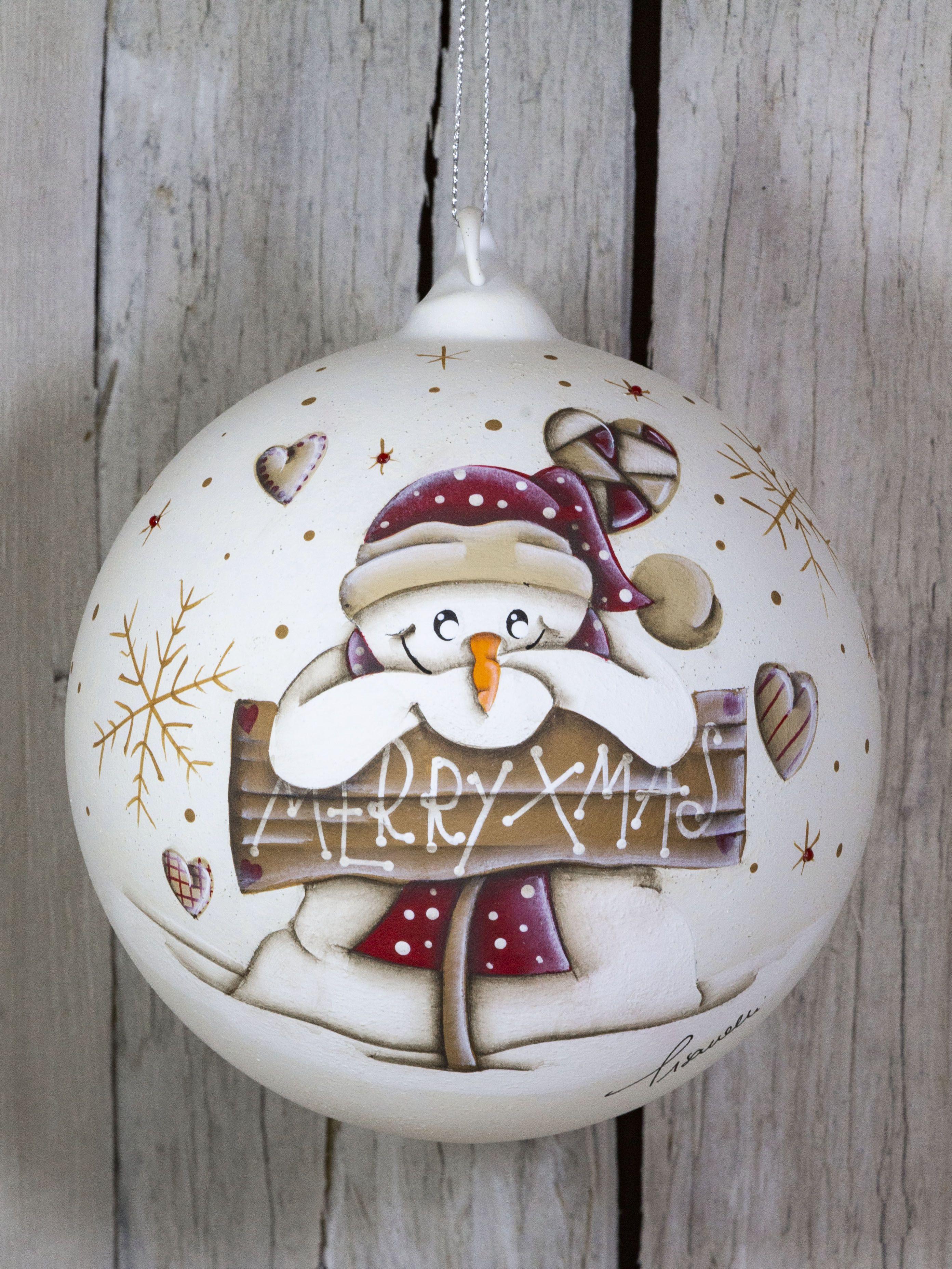 Customizable Glass Ball Christmas Glass Ornaments Hand Painted Christmas Ornaments Painted In Country Painting Christmas Glass Gift In 2020 Hand Painted Ornaments Christmas Gift Decorations Glass Christmas Ornaments