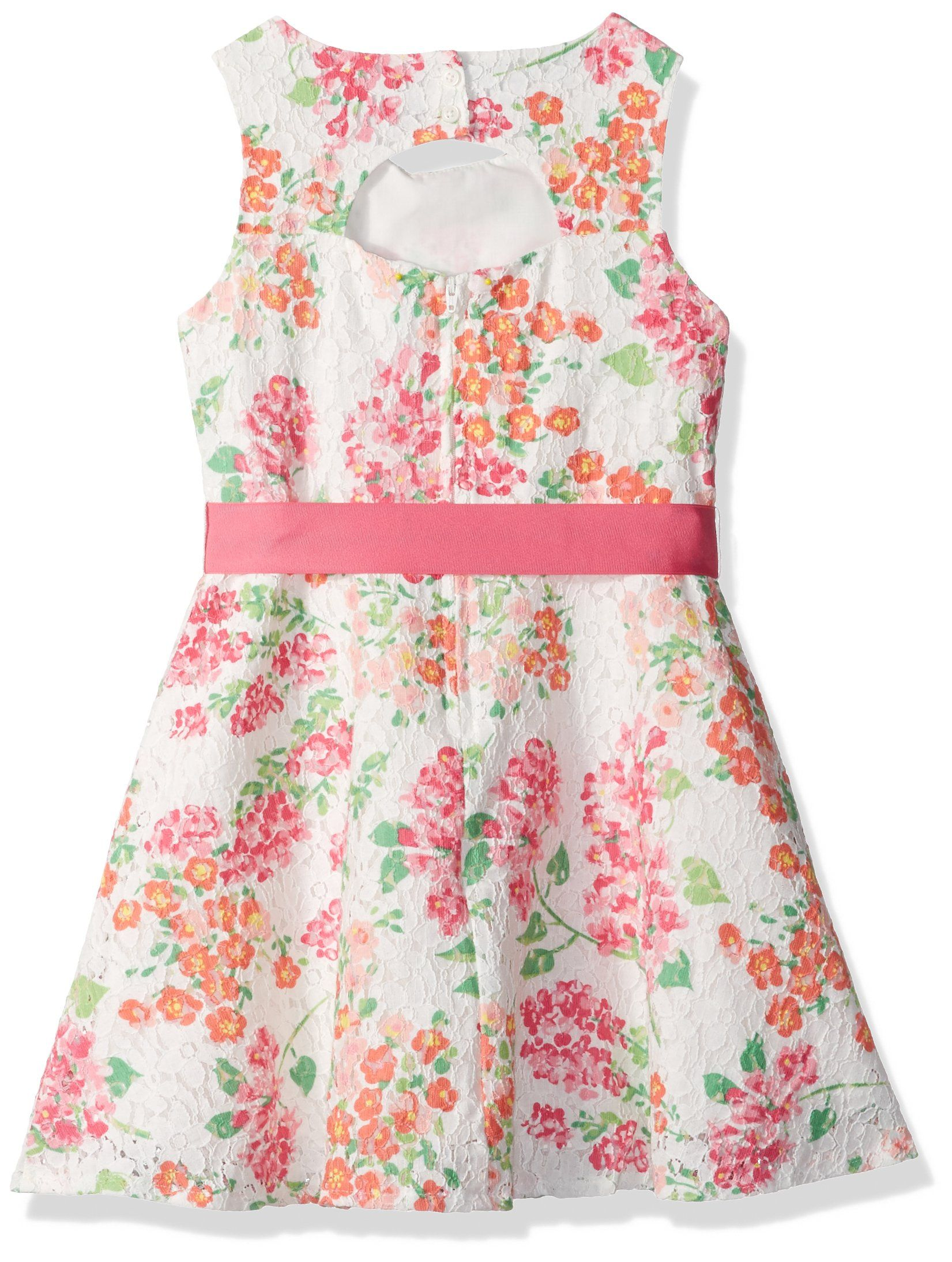 ca7a2927e639 The Childrens Place Little Girls Sleeveless Dressy Dresses 2 Neon Berry  8173 4 -- You can find more details by visiting the image link.