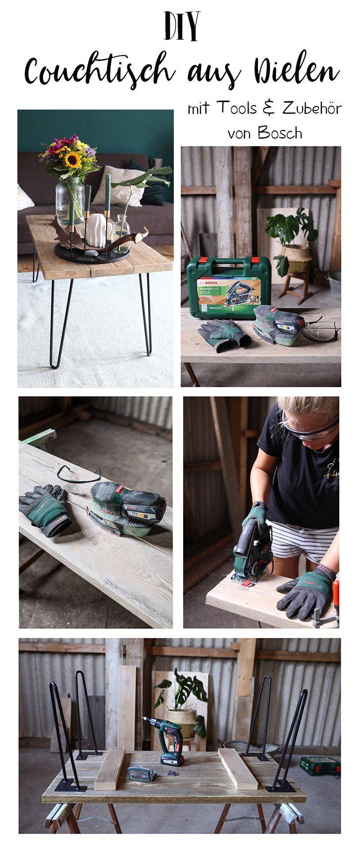 Photo of DIY Couchtisch aus Gerüstbohlen ein Projekt mit Tools von BOSCH