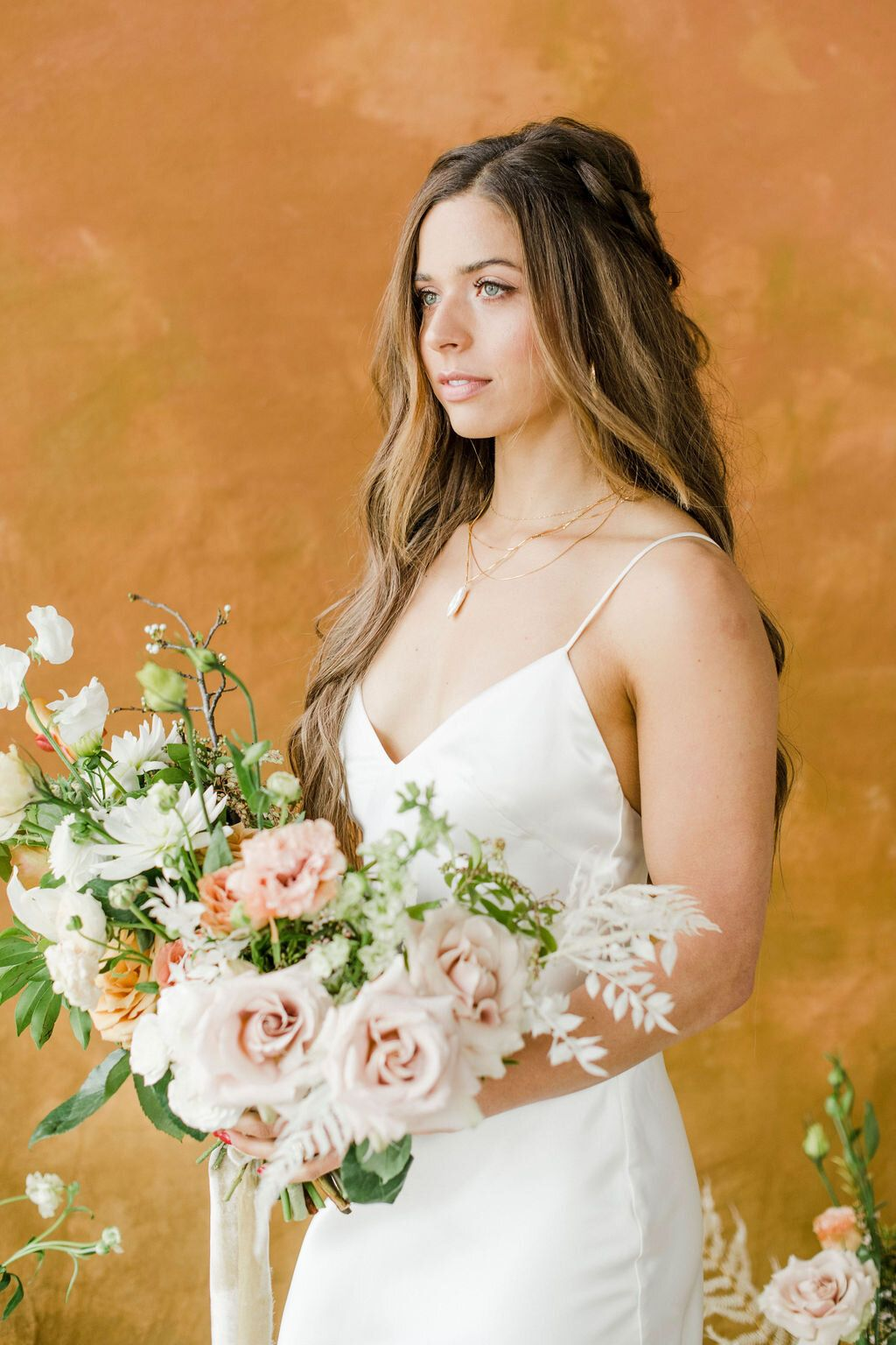 Specialty Linen Event Rental Bridal Photoshoot Country Wedding