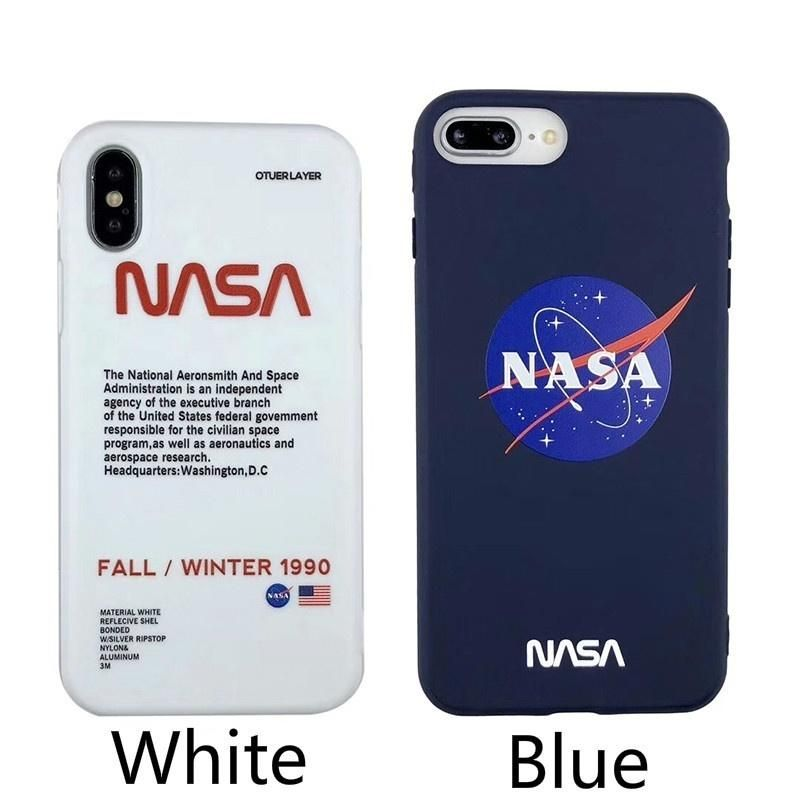 Fashion NASA American Astronaut Space Case For Iphone X XR