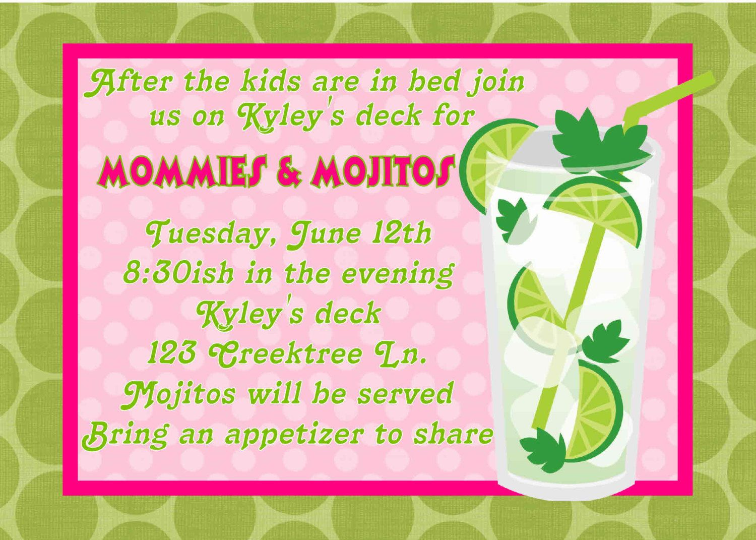 girls night in invitation wording ideas GIRLS NIGHT OUT PARTY
