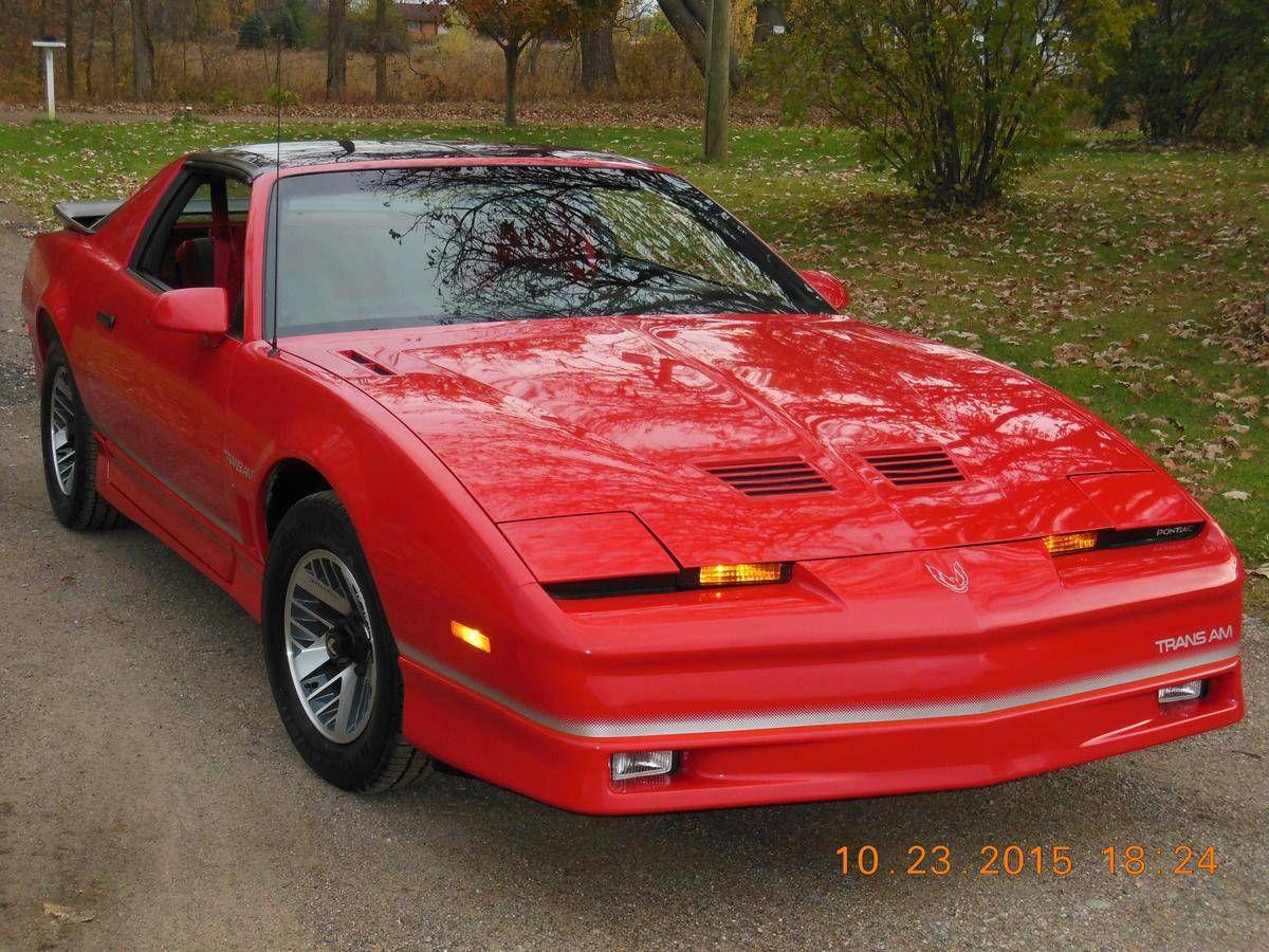 1986 pontiac trans am for sale 1788555 trans am pontiac firebird trans am pontiac pontiac firebird trans am