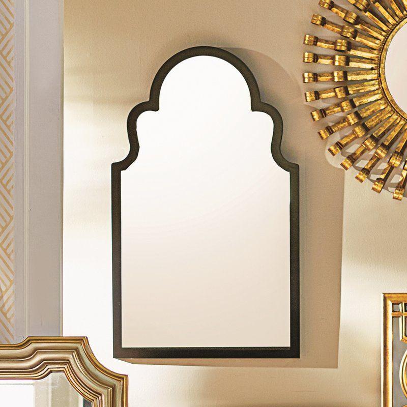 Fifi Contemporary Arch Wall Mirror Mirror Wall Entryway Wall Decor Mirror Design Wall