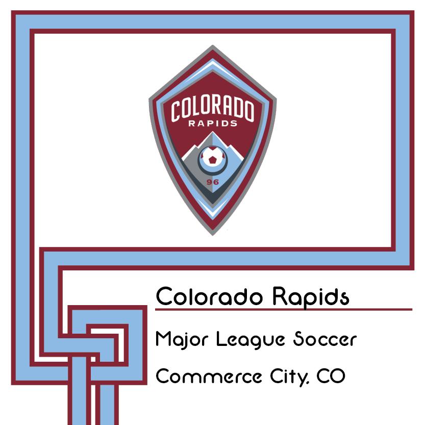 Colorado Rapids Logo And Brand Identity Landing Spot Inside Of Spor Repor S Logo Pedia Logos Sports Logo Colorado Rapids