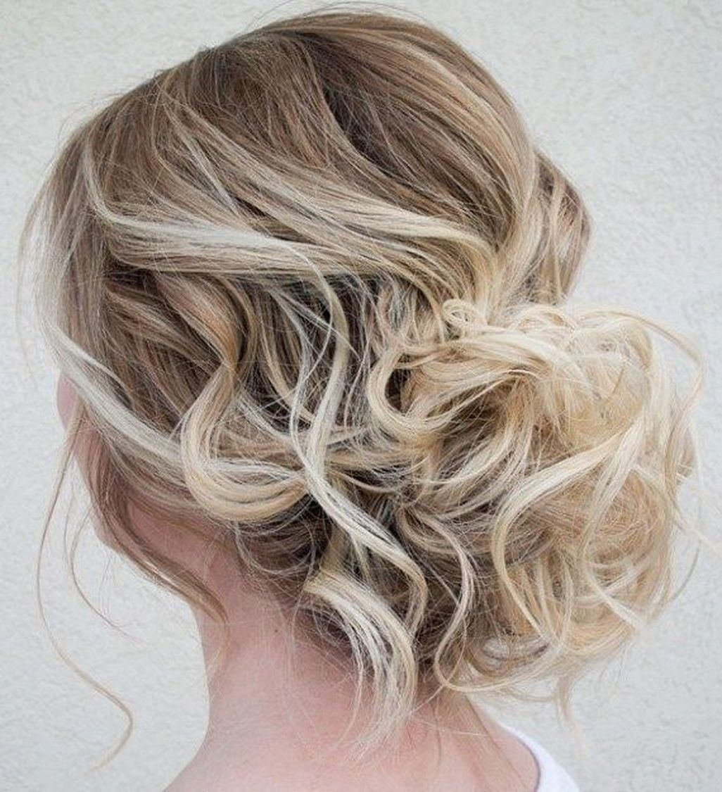 beautiful updo hairstyles for mid length hair hair pinterest