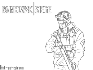 Rainbow Six Siege Coloring Pages Coloring Pages Rainbow Print