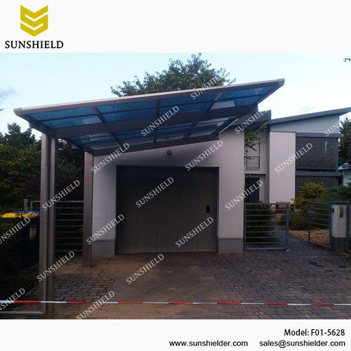 Portable Car Garage Port Patio Cover Sunshield Carport Aluminum Carport Carport Sheds Flat Roof