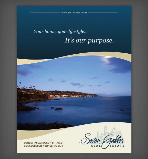 high end real estate brochure - Google Search (Not my taste but ...