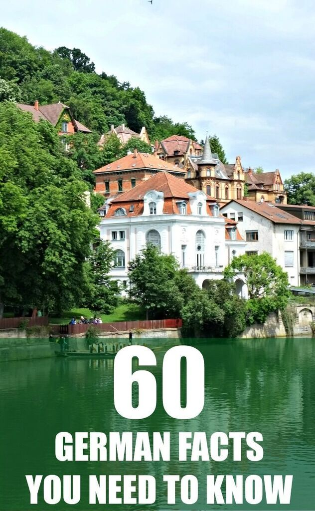 60 interesting facts about germany you should know about europe travel pinterest urlaub in. Black Bedroom Furniture Sets. Home Design Ideas