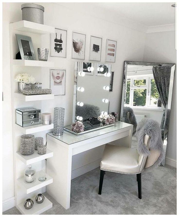 Photo of 53 best makeup vanities & cases for stylish bedroom 23 – Room Ideas