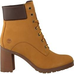Timberland Ankle Boots Allington 6in Lace Camel Damen Timberland #christmaspartyoutfit